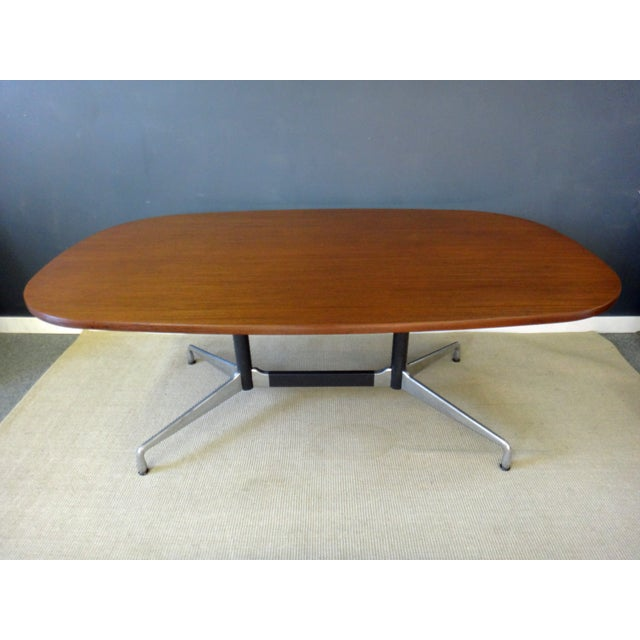Eames for Herman Miller Large Oval Table - Image 3 of 7