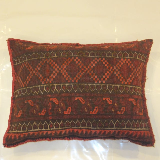 Afghan Rug Fragment Pillow - Image 3 of 3