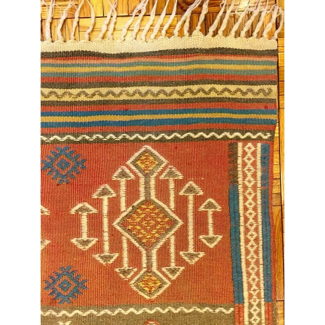 Turkish Antique Kilim Rug - 2′8″ × 4′7″ - Image 5 of 5