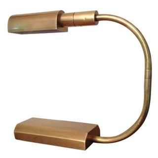 Bauhaus-Inspired Brass Desk Lamp by Chapman