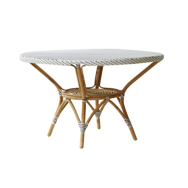 Grange Danielle White & Cappucino Dining Table - Image 1 of 2