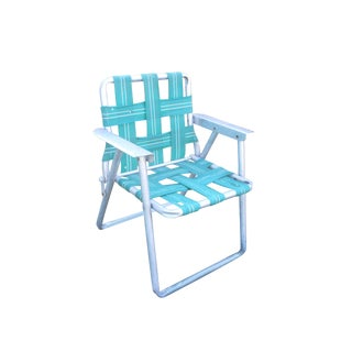 Blue Child's Lawn Chair