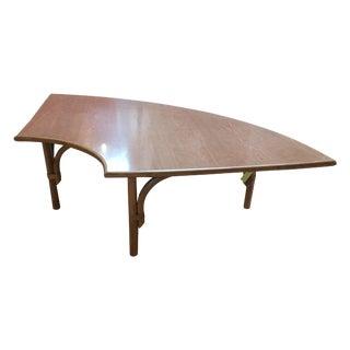 Bamboo Rattan Corner Table