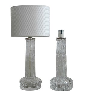 Carl Fagerlund for Orrefors Table Lamps - Pair