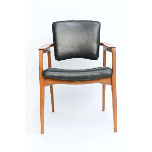 Sigvard Bernadotte Teak Lounge Armchair for France & Daverkosen - Image 2 of 9