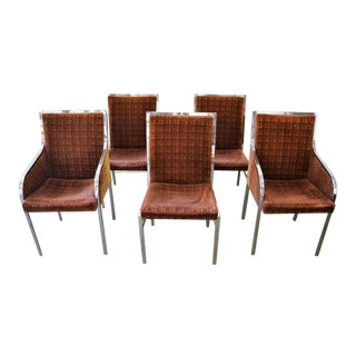 Pierre Cardin Dining Chairs - Set of 5