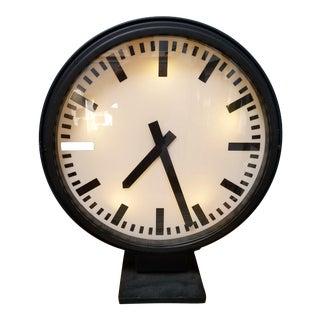 Restoration Hardware Train Station Clock