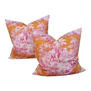 """Manuel Cordova """"Raj"""" Pillows - A Pair"""