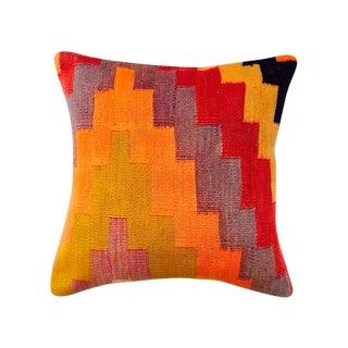 Wool Turkish Kilim Pillow