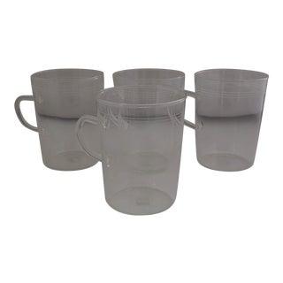 Schott Zwiesel Mid-Century Thin Glass Tea Mugs- Set of 4