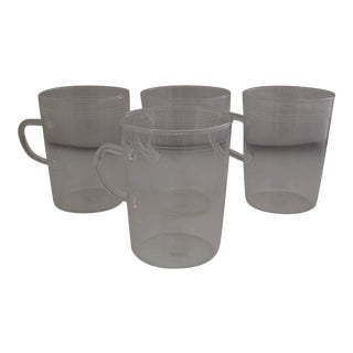Schott Zwiesel Mid-Century Thin Glass Tea Mugs- Set of 4
