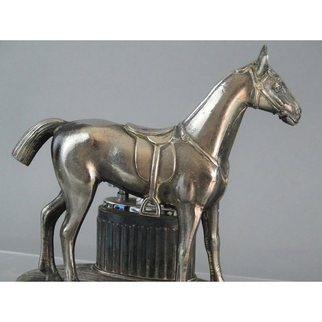 Equestrian Horse Table Lighter - Image 9 of 9