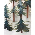Image of Curtis Jere Pine Forest Wall Sculpture