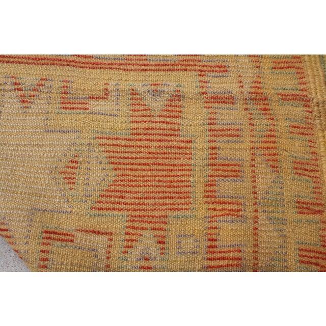Image of Vintage 1970's Moroccan Berber Rug - 4′7″ × 9′6″