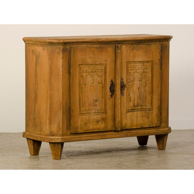 Antique German Neoclassical Bas d'Armoire or Buffet, Original Paint, circa 1780 - Image 2 of 10