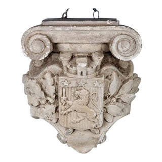 French Architectural Cement Corbel