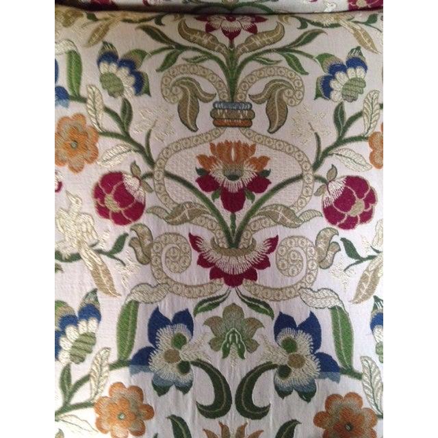 Portuguese Tapestry Uphulsyered Willis Sofa - Image 6 of 6