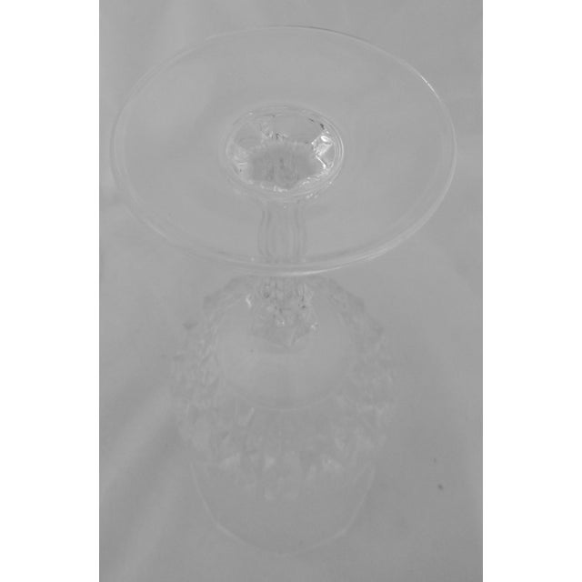 Vintage French Crystal Wine Glasses - Set of 8 - Image 5 of 6