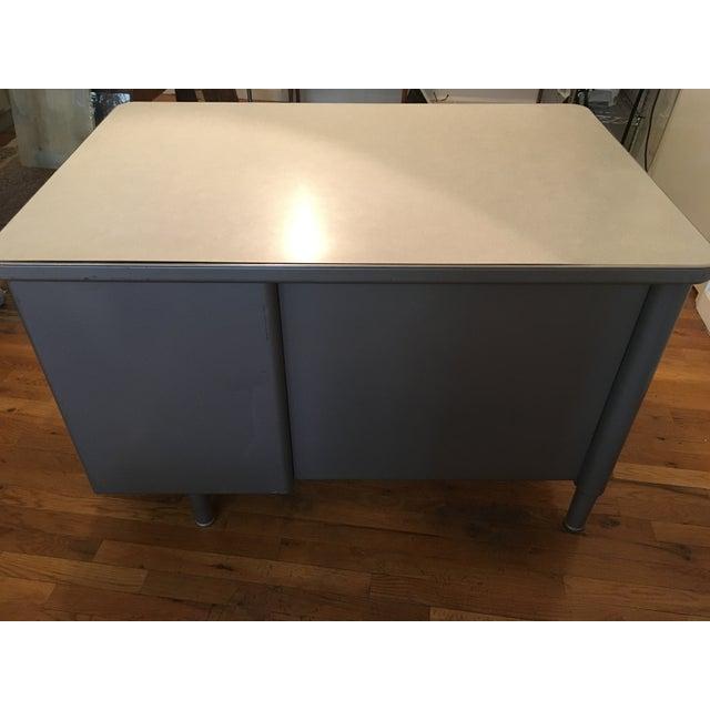Image of Steelcase Antique Tanker Desk