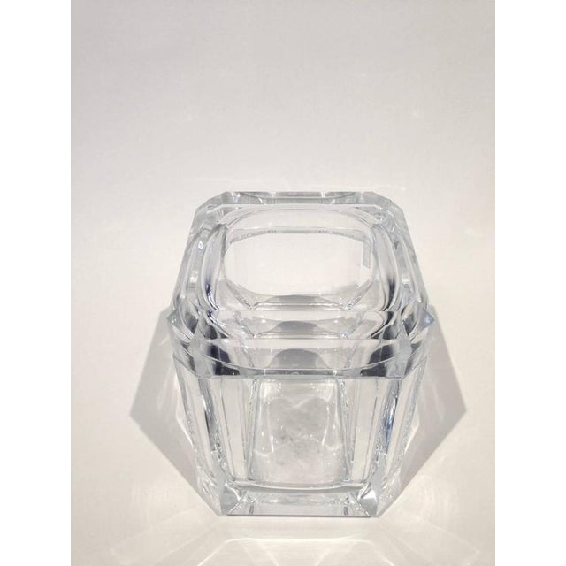 Faceted Acrylic Ice Bucket - Image 2 of 4