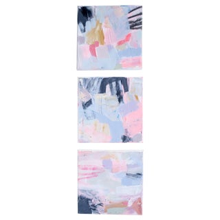 Original Abstract Paintings by Brenna Giessen- S/3