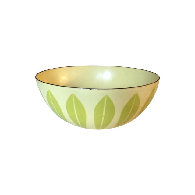 Cathrineholm Green And Yellow Lotus Bowl - Image 1 of 7
