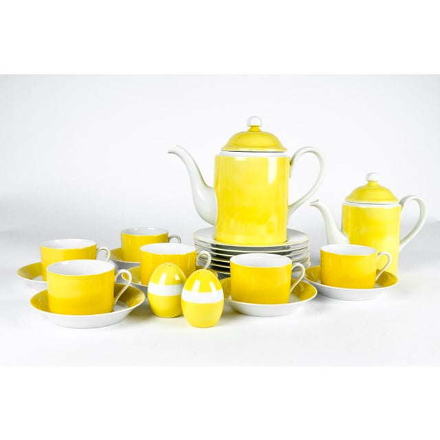 Vintage Lemon Porcelain Luncheon Service - Image 5 of 11