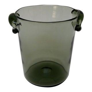 Smoke Glass Ice Bucket