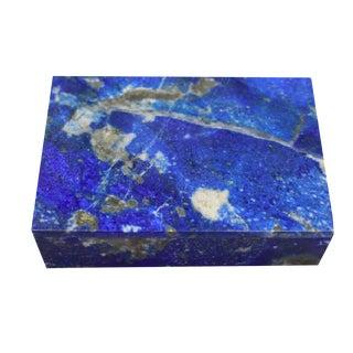 Lapis Lazuli Stone Box