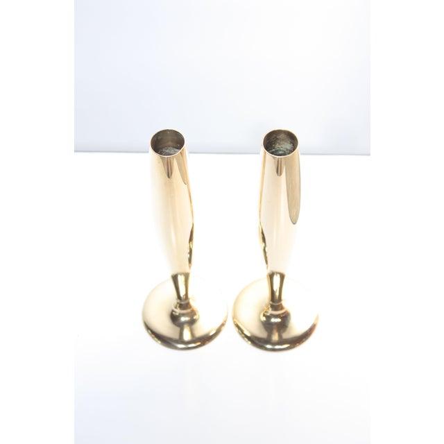Art Deco Dirigold Goldware Bud Vases - A Pair - Image 4 of 6