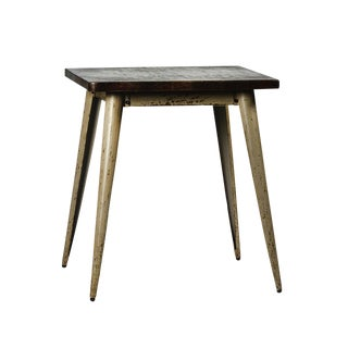 Industrial Iron Square Table