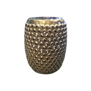 Gold Cynthia Stool or Side Table