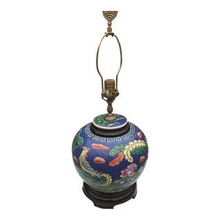 Vintage Wildwood Rooster & Stork Lamp