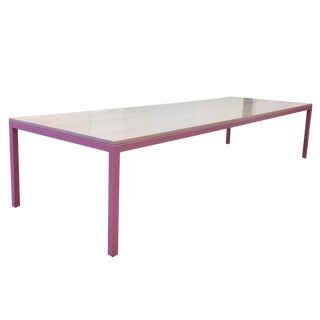Large Pink Custom Made and Heavy Duty Table