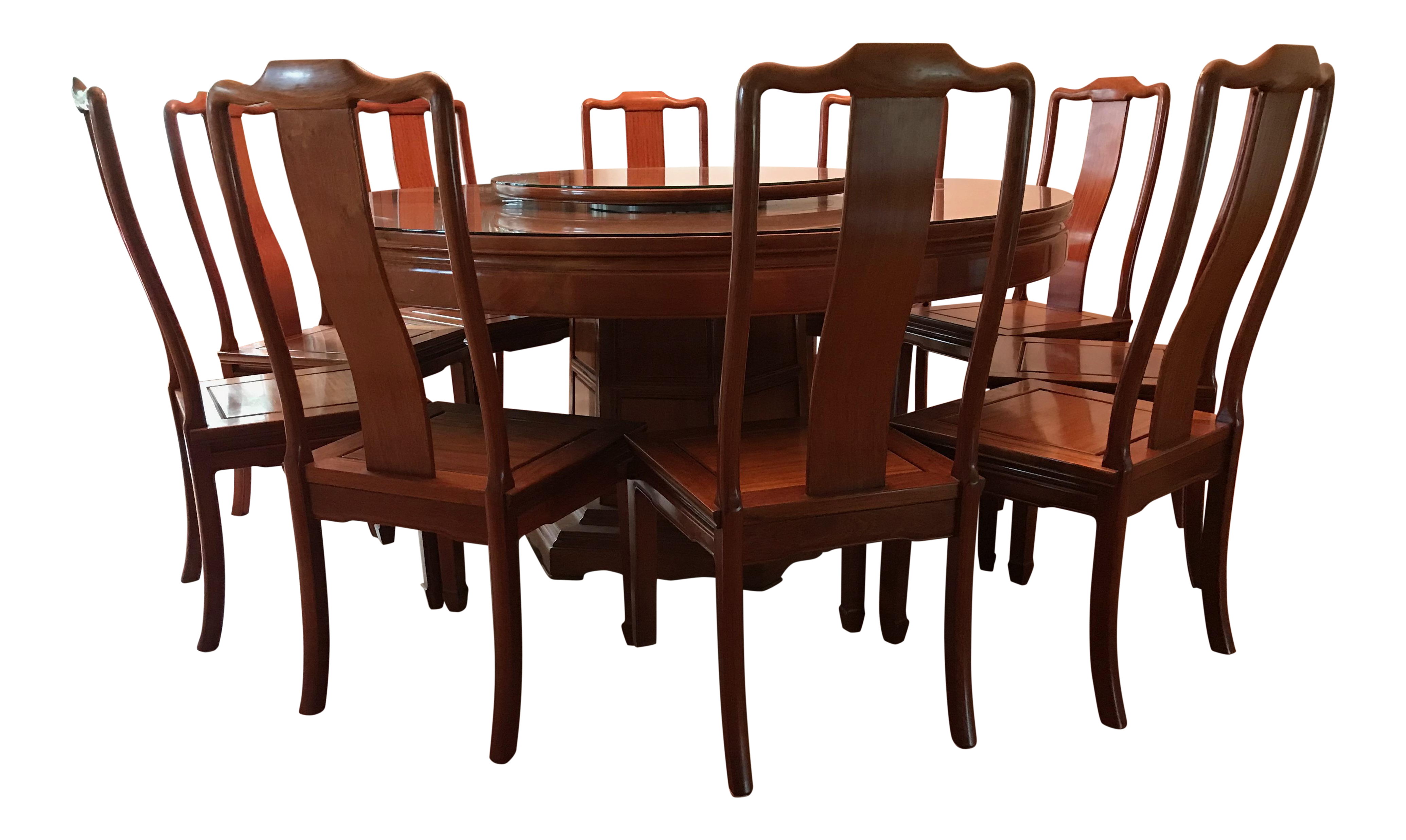 Chinese Rosewood Dining Set