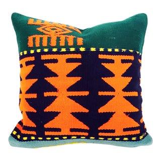 Colorful Turkish Kilim Pillow