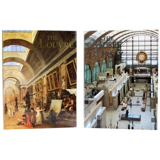 Great Parisian Museums Books - A Pair