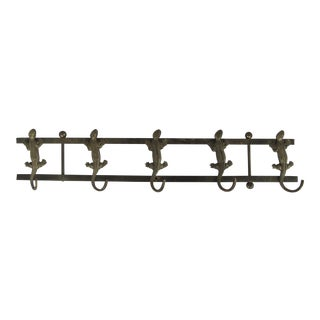 Brass Salamander Wall Hook