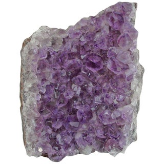 Natural Amethyst Crystal Formation