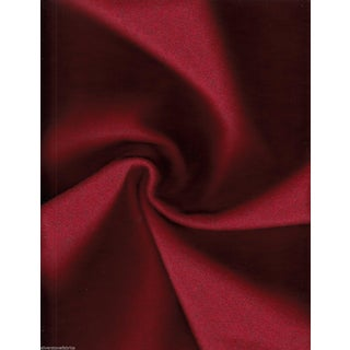 Bernhardt Red Focus Wool Fabric - 2.625 Yards