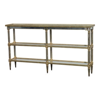 Mirrored Three Tier Console