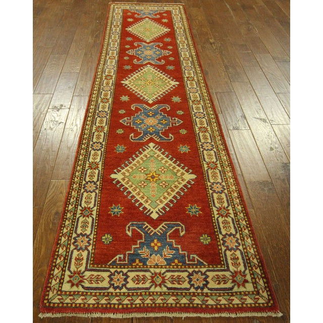 "Image of Shirvan Red Kazak Runner Rug - 2'8"" x 9'6"""
