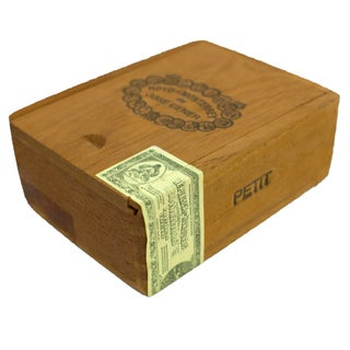 Vintage Honduran Cigar Box