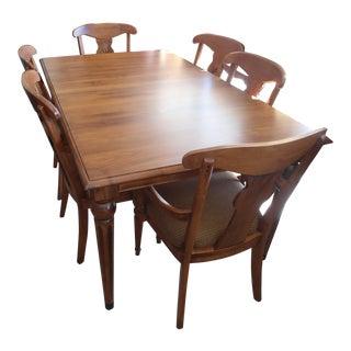 Ethan Allen Dining Set - Set of 7
