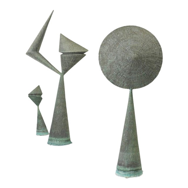 Important Harry Bertoia Sculptures from Stemmons Towers, Dallas - Image 1 of 4