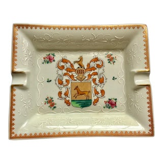 Porcelaine De Paris Ashtray