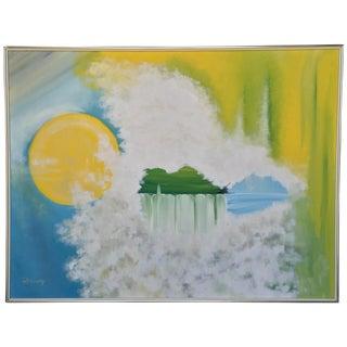 """Tranquillity"" Original Oil Painting"
