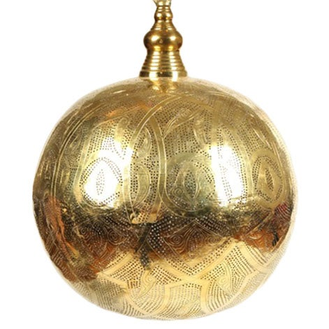 Handcrafted Moroccan Lantern Chandelier - Image 1 of 2