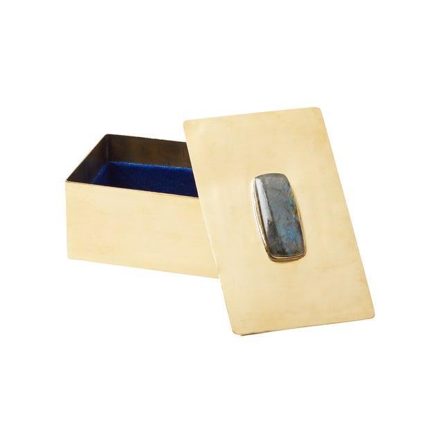 Rectangular Labradorite Gemstone Box - Image 2 of 2