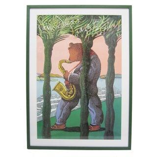 Milton Glaser San Diego Jazz Festival Poster